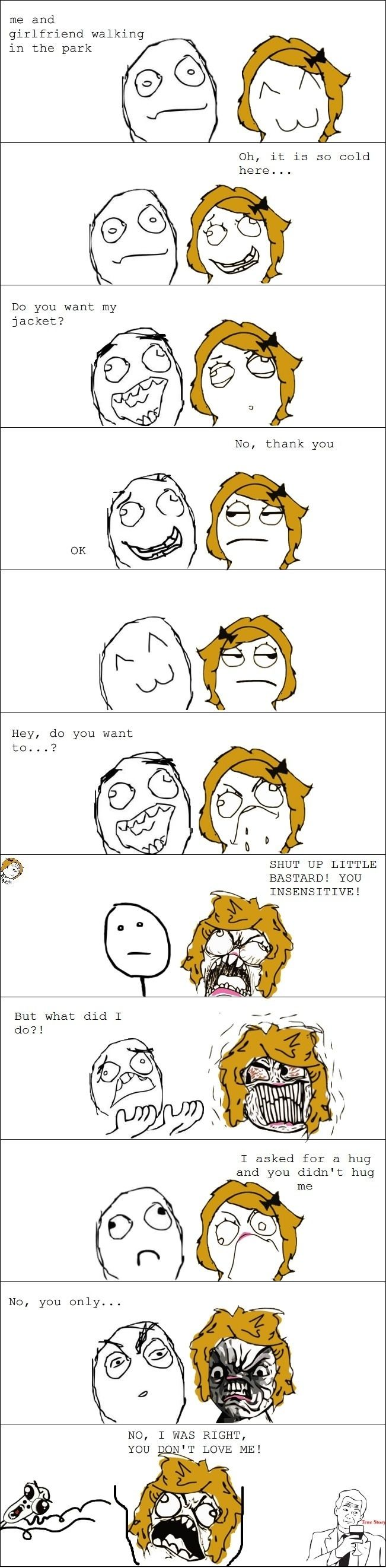 Girls logic on PMS  - funny pictures #funnypictures