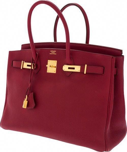 54fac63b6ba6 Hermes burgundy Birkin Bag  Hermeshandbags