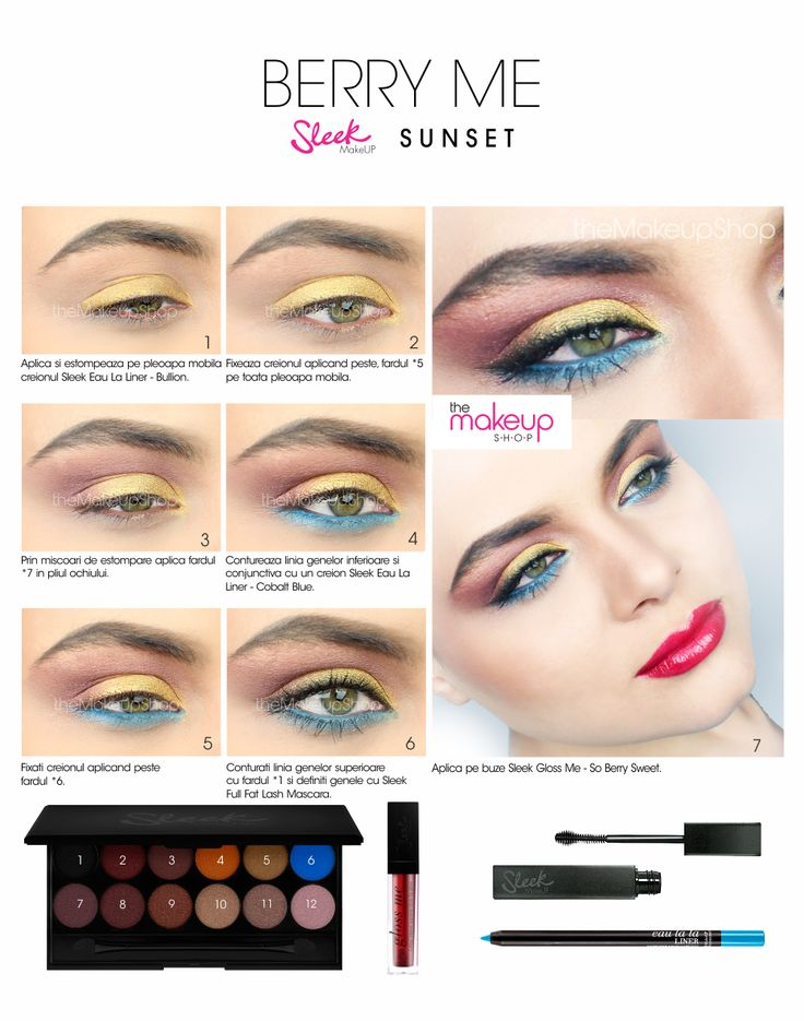 Sleek Sunset Eyeshadow Palette - Makeup Shop