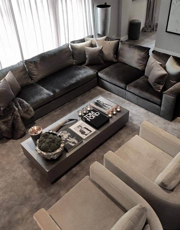Die 83 besten Bilder zu Woonkamer auf Pinterest Wohnzimmer, Kamine - moderne luxus wohnzimmer