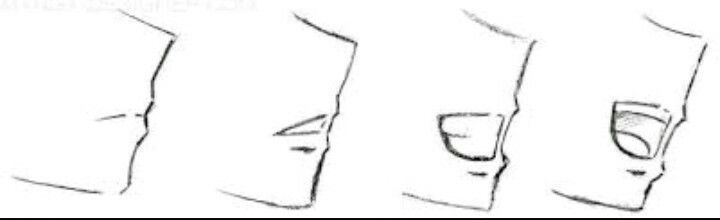 Comment dessiner une bouche de personnages de manga