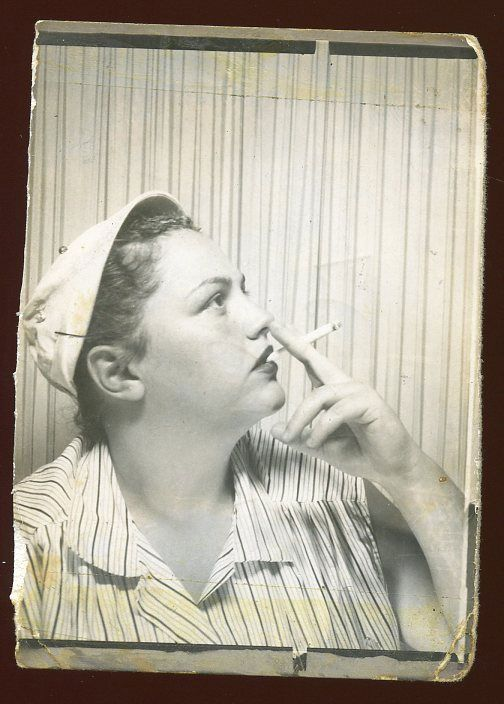 Nifty Woman Smoking
