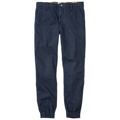 Timberland Men's Lovell Lake Slim Fit Tapered Chino Pant Dark Navy
