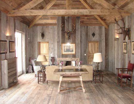 Grey barn homes and barn wood on pinterest