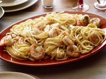 Tyler's Shrimp Scampi with Linguini
