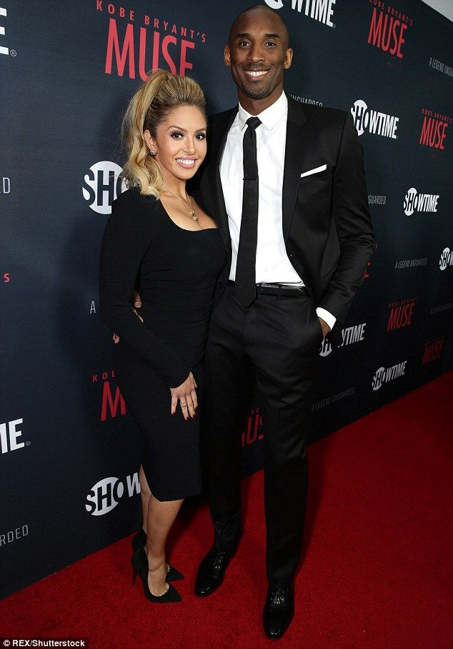 Third time around: Kobe Bryant and his wife Vanessa Laine Bryant have announced they are expecting their third daughter