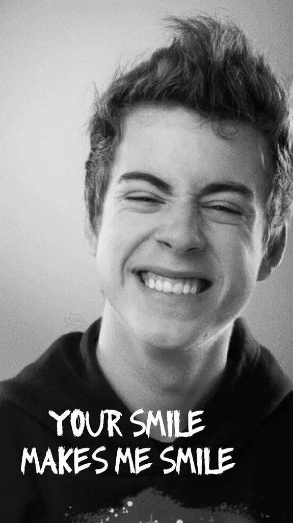 Seu sorriso em faz sorrir ❤️❣️