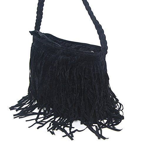THG Celebrity Fringe Black Tassel Faux Suede Messenger Cross Body Tote Shoulder Handbags No description (Barcode EAN = 4895169650434). http://www.comparestoreprices.co.uk/december-2016-6/thg-celebrity-fringe-black-tassel-faux-suede-messenger-cross-body-tote-shoulder-handbags.asp