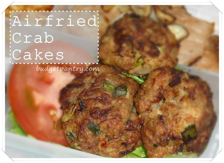 Crab Cakes Actifry
