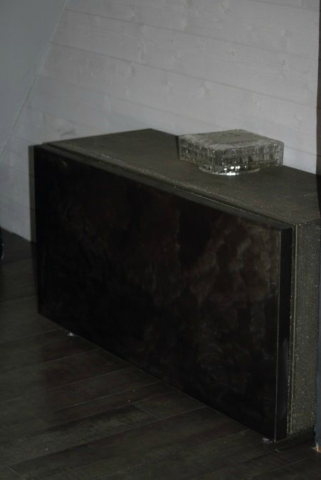 Meuble tv commode pour robert meubles tv industriels pinterest robert - Armoire metallique fly ...