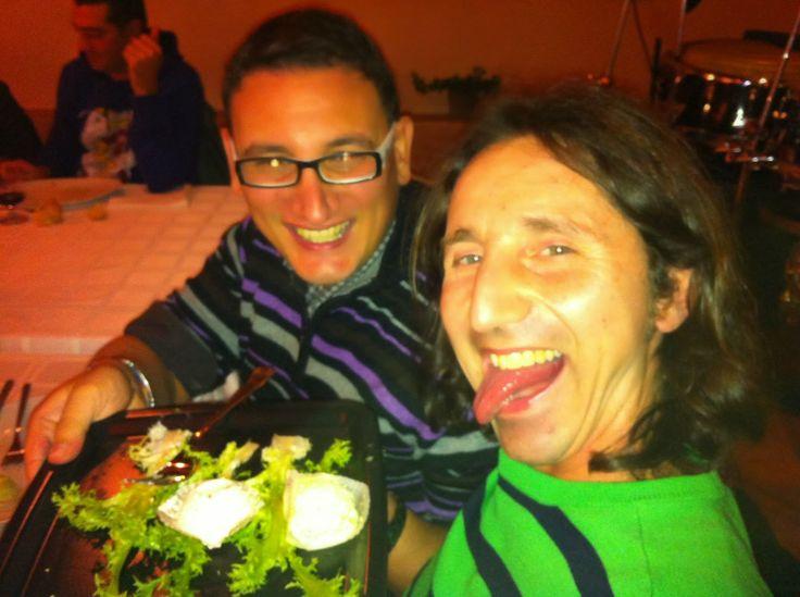 Dinner at our AgriTurism Restaurant, Il Tarassaco  #Valchiusella #Piemonte #BaccoReunion #Erbaluce #Formaggi I folli amanti della socialita' e del gusto.Da grandissimi #ViaggiatoridelGusto tra i sorrisi e la bellezza e la bonta' del divino Vino Erbaluce. Ubriachi di vita. Ottobre 2013 Bacco Reunion Cuceglio To,