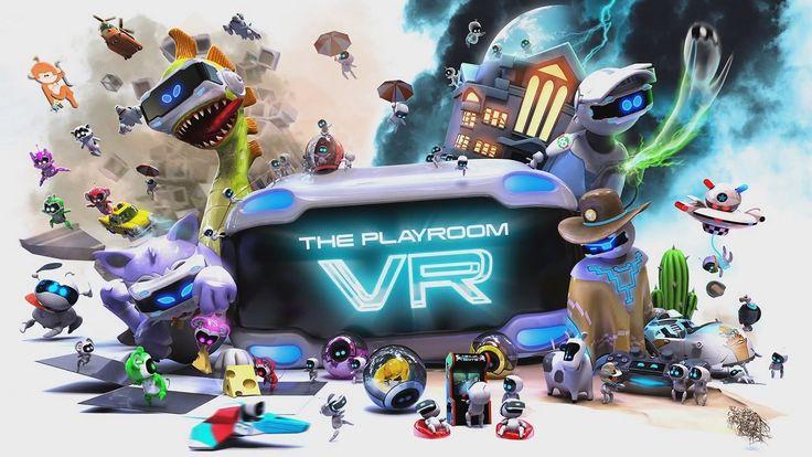 Игровая комната для PS VR (Playroom VR) обзавелась новой бесплатной игрой «Игрушечные войны» #PSVR #JapanStudio #PlayStationVR #ThePlayroomVR #VRGAMES