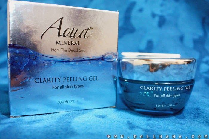 aqua mineral clarity peeling gel dead sea products