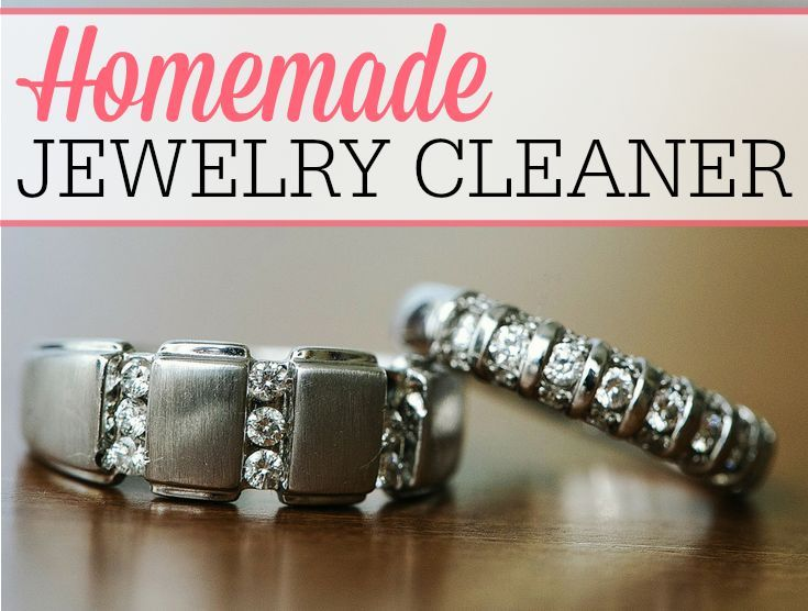 Make your diamonds sparkle with this easy homemade jewelry cleaner. It only costs pennies to make and is so easy to use.