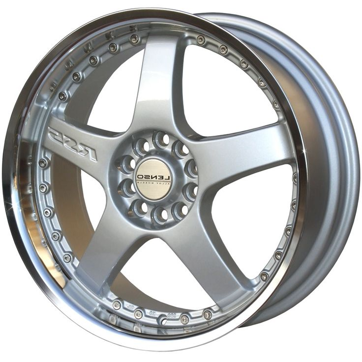 LENSO RS5 SILVER  MIRROR LIP alloy wheels with stunning look for 4 studd wheels in SILVER  MIRROR LIP finish with 16 inch rim size