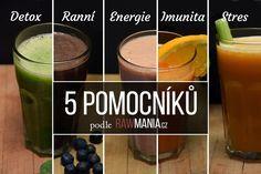 5 základních smoothies a šťáv