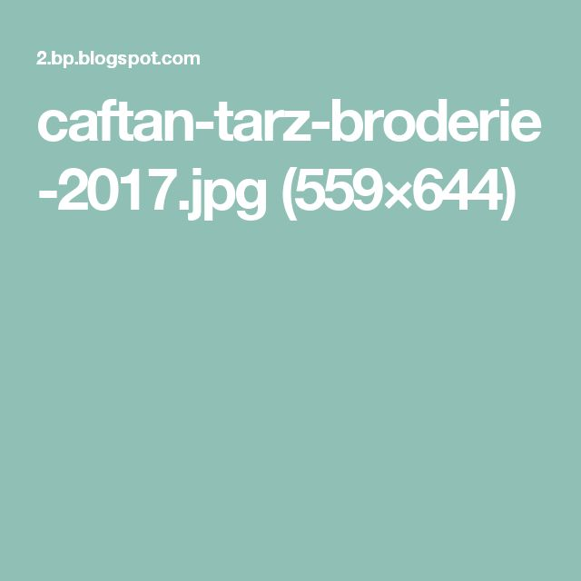 caftan-tarz-broderie-2017.jpg (559×644)
