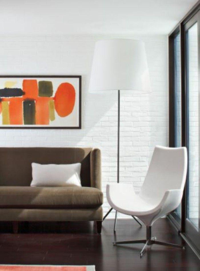 Die besten 25+ Orange zimmer Ideen auf Pinterest Orangefarbene - wohnzimmer orange rot