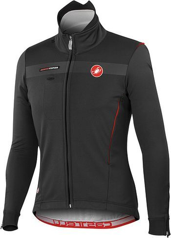 Winter Cycling Gear: The Castelli Espresso Due Jacket is great for cold conditions and allows for plenty of shoulder movement while riding your bike. $300.