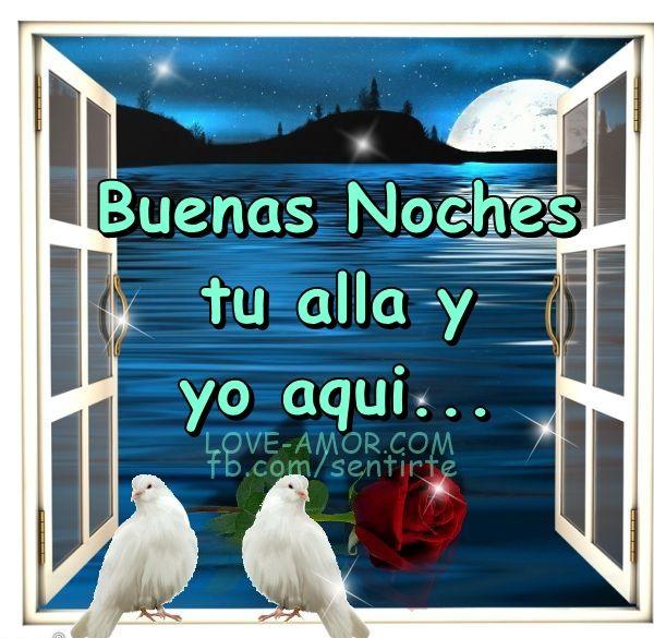 Amor Mio •ღೋεїз: Buenas noches tu alla...