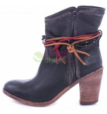 Ankle Boots FELMINI Premiun P409 Targoff Black  http://www.escapeshoes.com/47_felmini