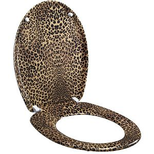 Add a touch of whimsy to your powder room with this leopard print toilet seat (no!)