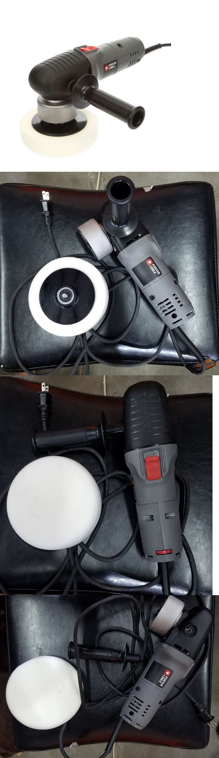 Buffers and Polishers 42266: Porter Cable 6 Variable Speed Random Orbit Polisher 7424Xp -> BUY IT NOW ONLY: $114 on eBay!