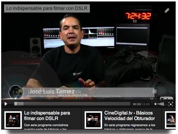 Serie básicos de grabación de vídeo con DSLR