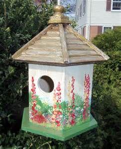 Bird Houses Painted on Pinterest | Birdhouses, Painted birdhouses ...