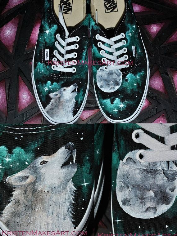 "You Design It - Painted Vans (""HD"" Quality) - Made to Order on Etsy,"
