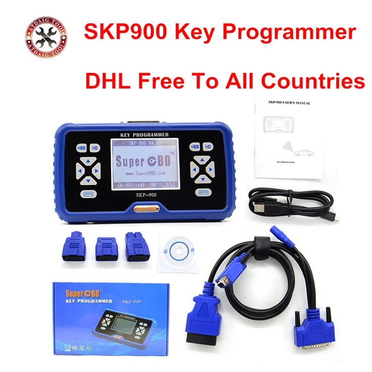 2017 Newest SuperOBD SKP-900 Hand-held OBD2 Auto Key Programmer for Almost All Cars SKP900 key programmer //Price: $496.80      #sale