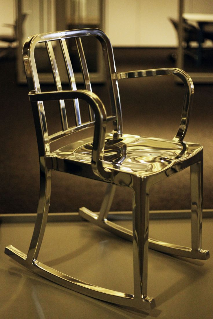 Heritage Rocking Armchair | Manufacture: Emeco | Manufacturer Website:  http://www. Lounge SeatingPhilippe ...