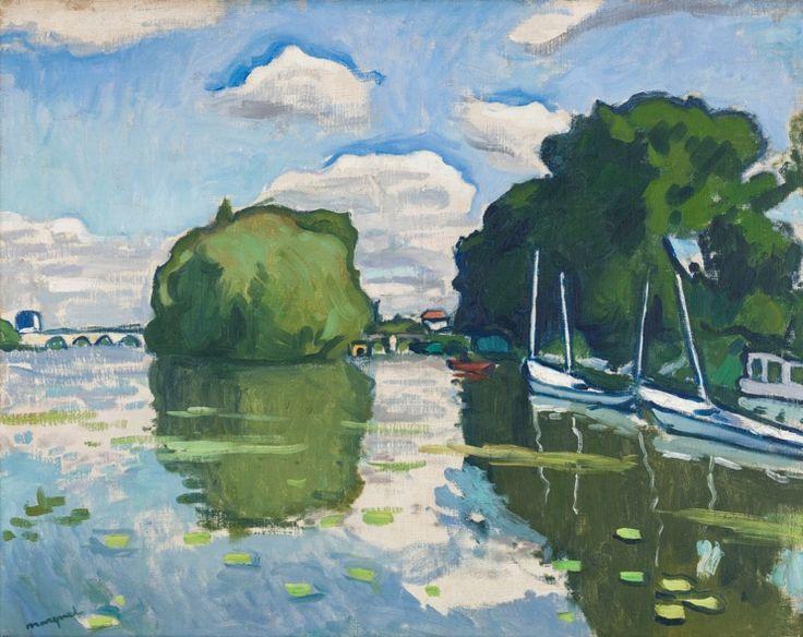 Albert Marquet - Seine à Poissy (1908)