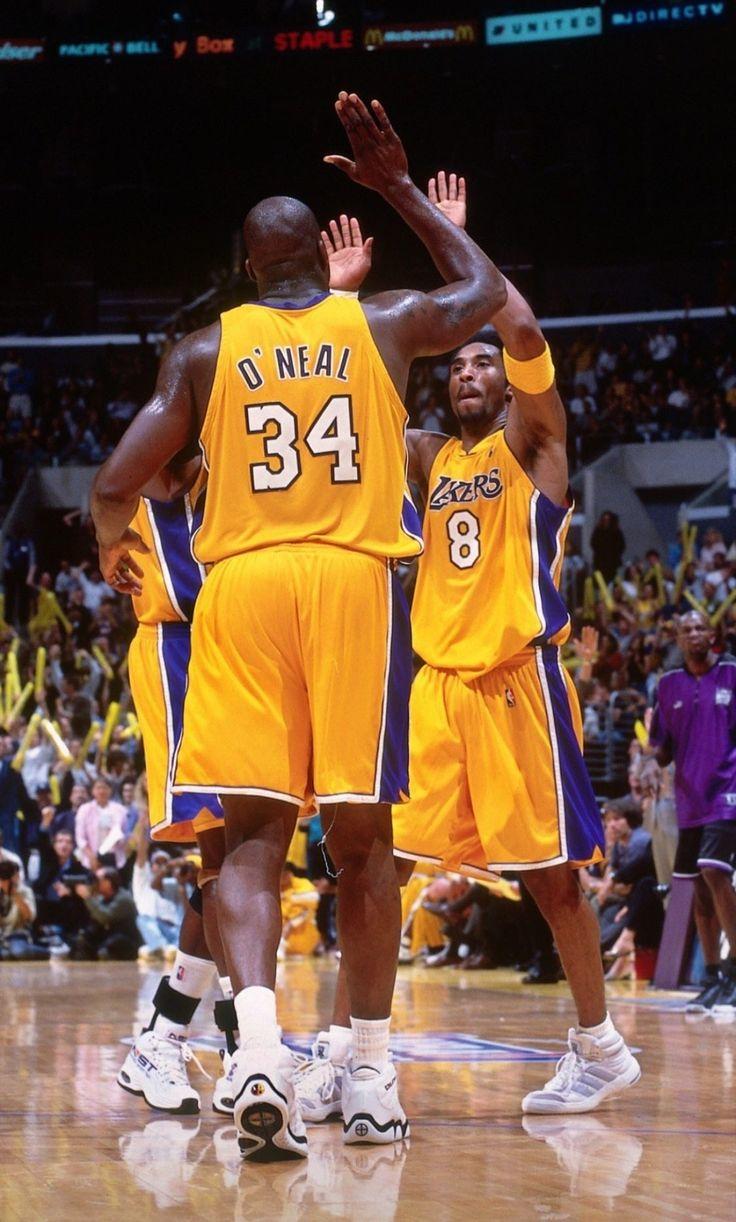 Kobe And Shaq Wallpaper Shaquille O Neal Kobe Bryant Pictures Kobe