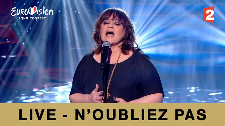 "Lisa Angell ""N'oubliez pas"" version Live (France) - Eurovision 2015"
