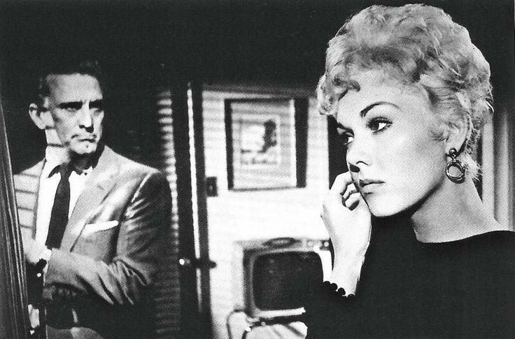 "Larry Coe (Kirk Douglas) to Maggie Gault (Kim Novak): ""Maggie, there's got to be more for us or less. It can't stay the way it is."" -- from Strangers When We Meet (1960) directed by Richard Quine"
