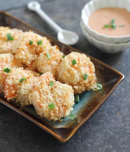 Baked Bang Bang Shrimp   runningtothekitchen.com