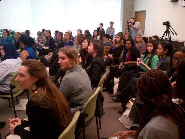 The session by Lesley Scorgie was fully packed!