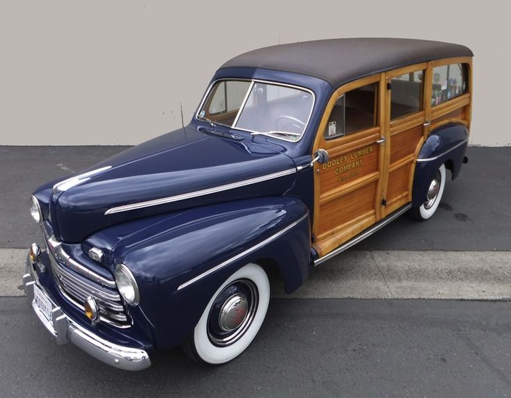 46 Ford  Woodie!