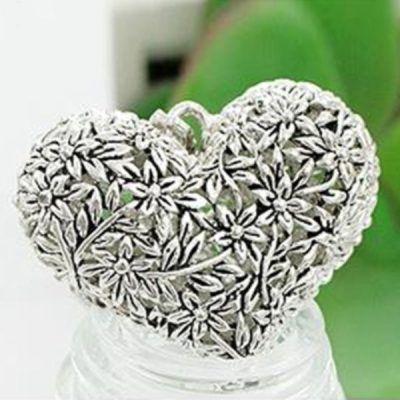 Naszyjnik Romantyczny Srebrne Serce