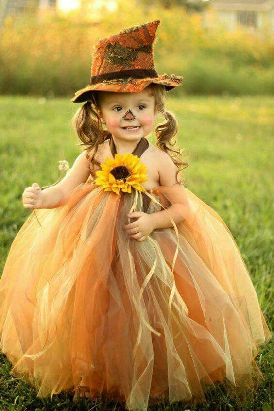 Little girl scarecrow tutu from etsy