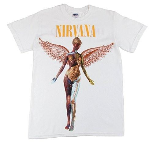 Nirvana In Utero Men's White T-Shirt