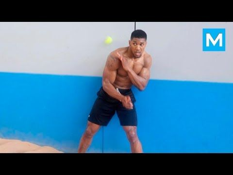 Anthony Joshua Boxing Training 2016 | Muscle Madness - YouTube