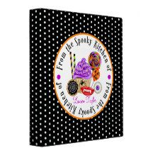 This is a really fun and vibrant recipe Binder! All graphics are hand drawn by me...you can even personalize the area with your name.... It is a really great way to keep your recipes organized and it makes an extra special gift for someone... maybe even for yourself!!