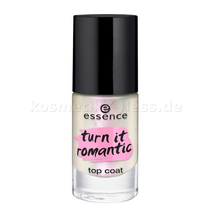 essence - Top Coat - turn it romantic top coat 01 - …to the moon and back! - Cosmetics & False Eyelashes