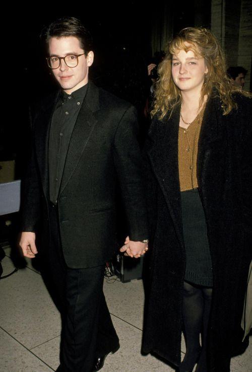 Matthew Broderick & Helen Hunt, 1987
