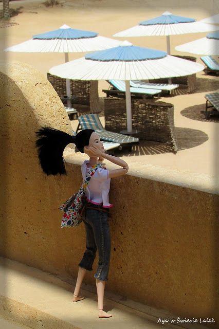 Aya w Świecie Lalek: Neko w dalekiej podróży