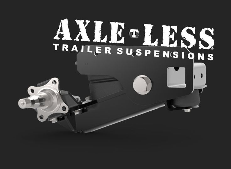 Axle-Less Trailer Suspension for off-road and overland adventure and exploration