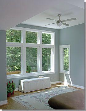 Master Bedroom Windows Photo