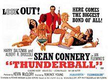 James Bond Series: Thunderball - 1965